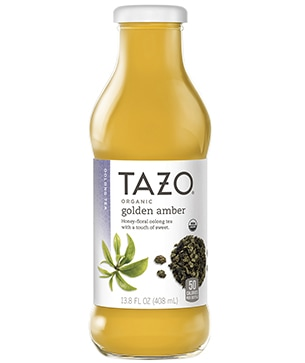 Tazo® Bottled Organic Golden Amber