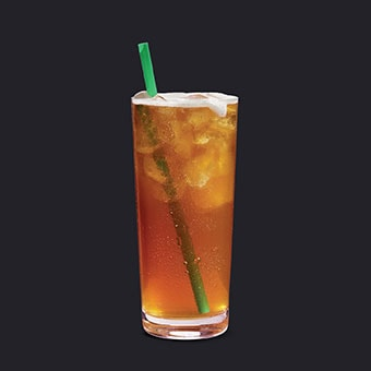 Iced Shaken Mango Black Tea Lemonade
