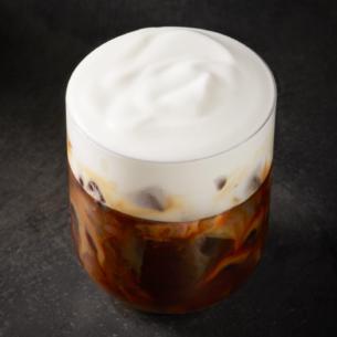Iced Starbucks Blonde Cold Foam Cappuccino