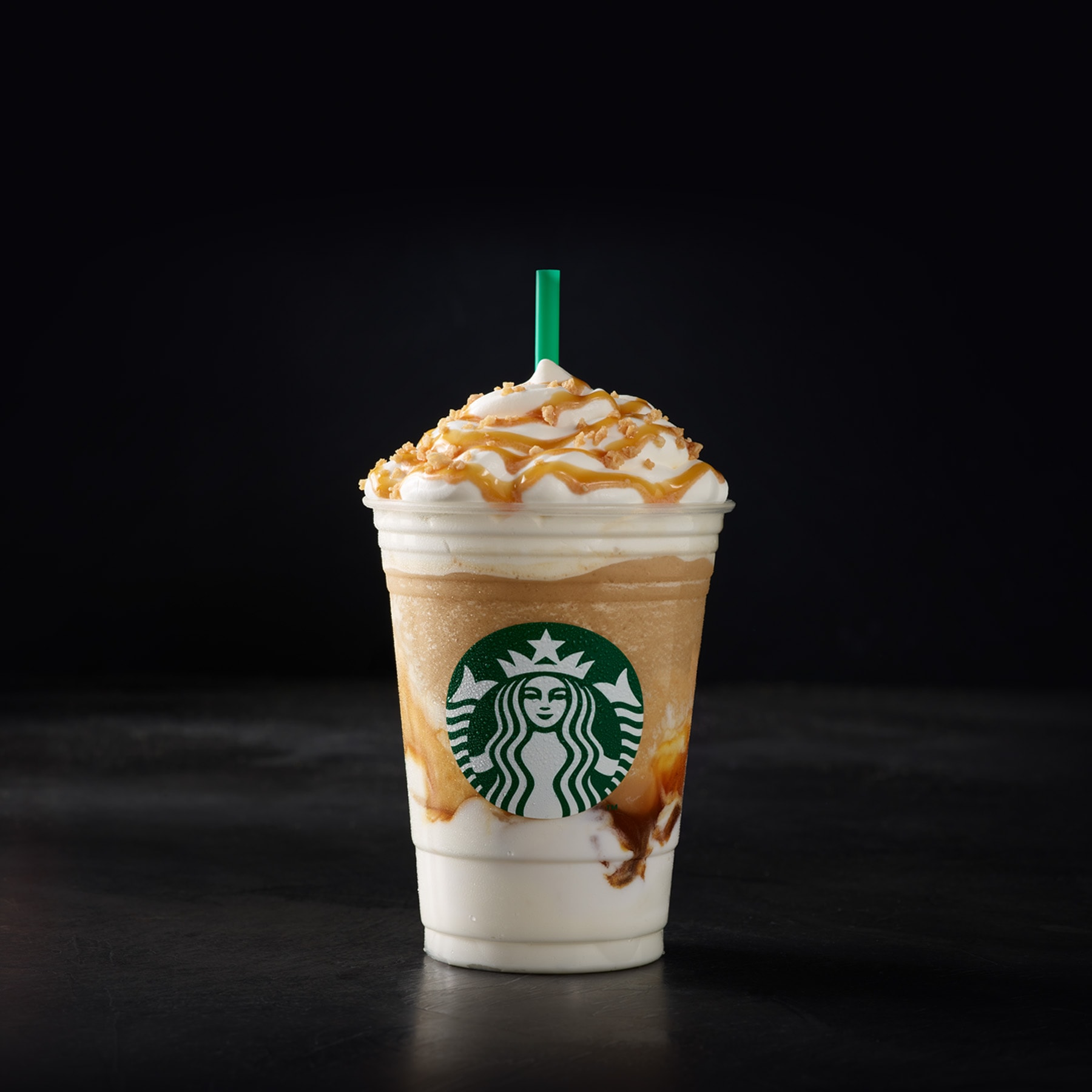 Caramel Ribbon Crunch Frappuccino® | Starbucks Coffee Company
