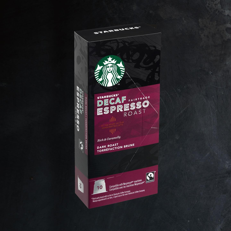 Starbucks Fairtrade Decaf Espresso Roast Espresso Capsules