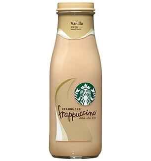 StarbucksR Bottled Vanilla FrappuccinoR Coffee Drink
