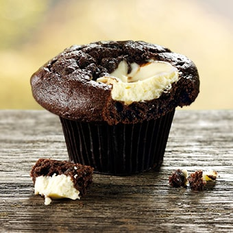 Chocolate Cheesecake Muffin