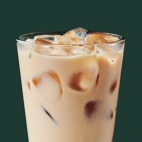 Iced Caramel Latte Starbucks