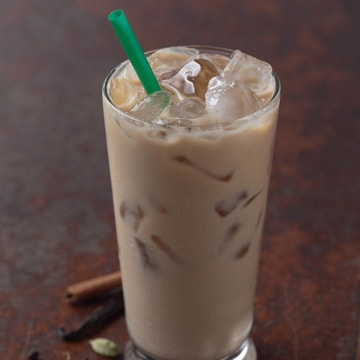 Iced Chai Tea Latte