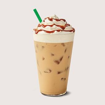 Iced Burnt Caramel Latte