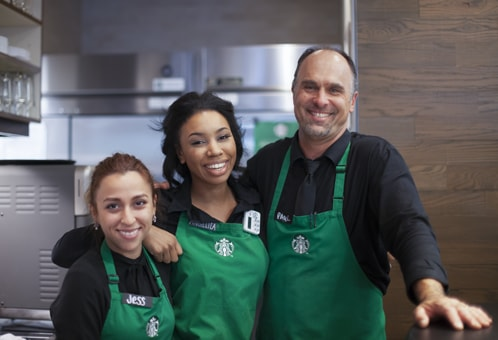 Starbucks partners
