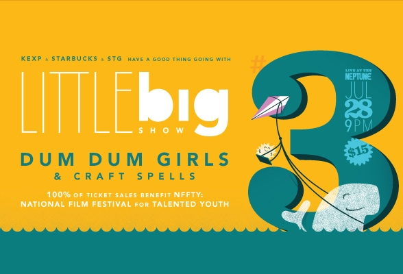 KEXP and Starbucks and STG present Little Big Show.