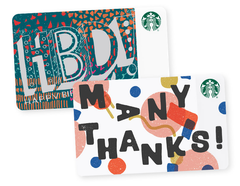 Starbucks Card Gift Ideas Made For You Starbucks Coffee Company