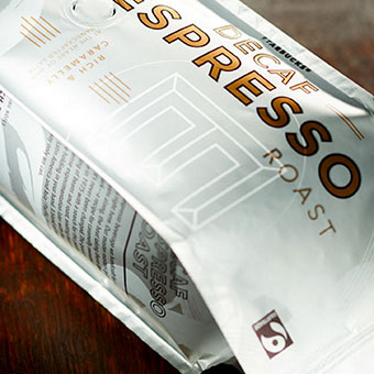 Fairtrade Certified Decaf Espresso Roast
