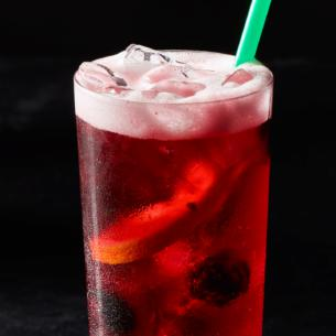 Teavana Shaken Berry Sangria Herbal Tea Starbucks Coffee Company