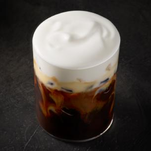 Our Starbucks Signature Espresso Lies In Wait Under A Smooth Layer Of Frothed Cold Foam With Just Splash Milk An Iced Cappuccino Offers Balanced