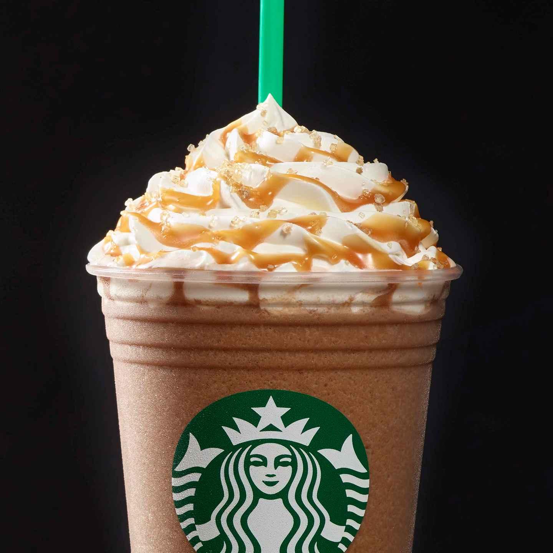 Salted Caramel Mocha Frappuccino Starbucks Coffee Company