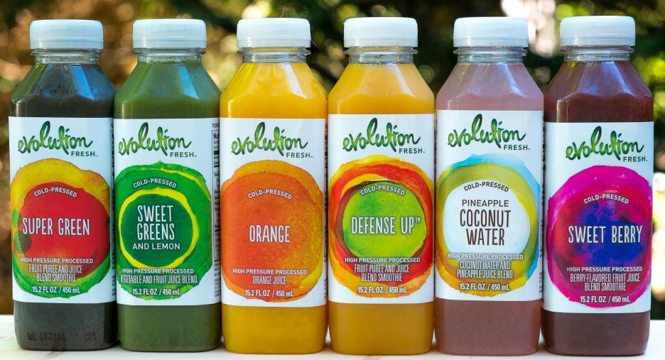 Evolution Fresh Juice Starbucks Coffee Company