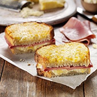 Ham & Cheddar Toastie