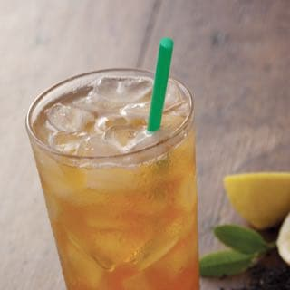 Iced Shaken Black Tea Lemonade