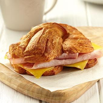 Ham & Cheddar Croissant