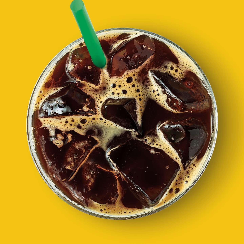 Iced Starbucks Blonde Caffe Americano Starbucks Coffee Company
