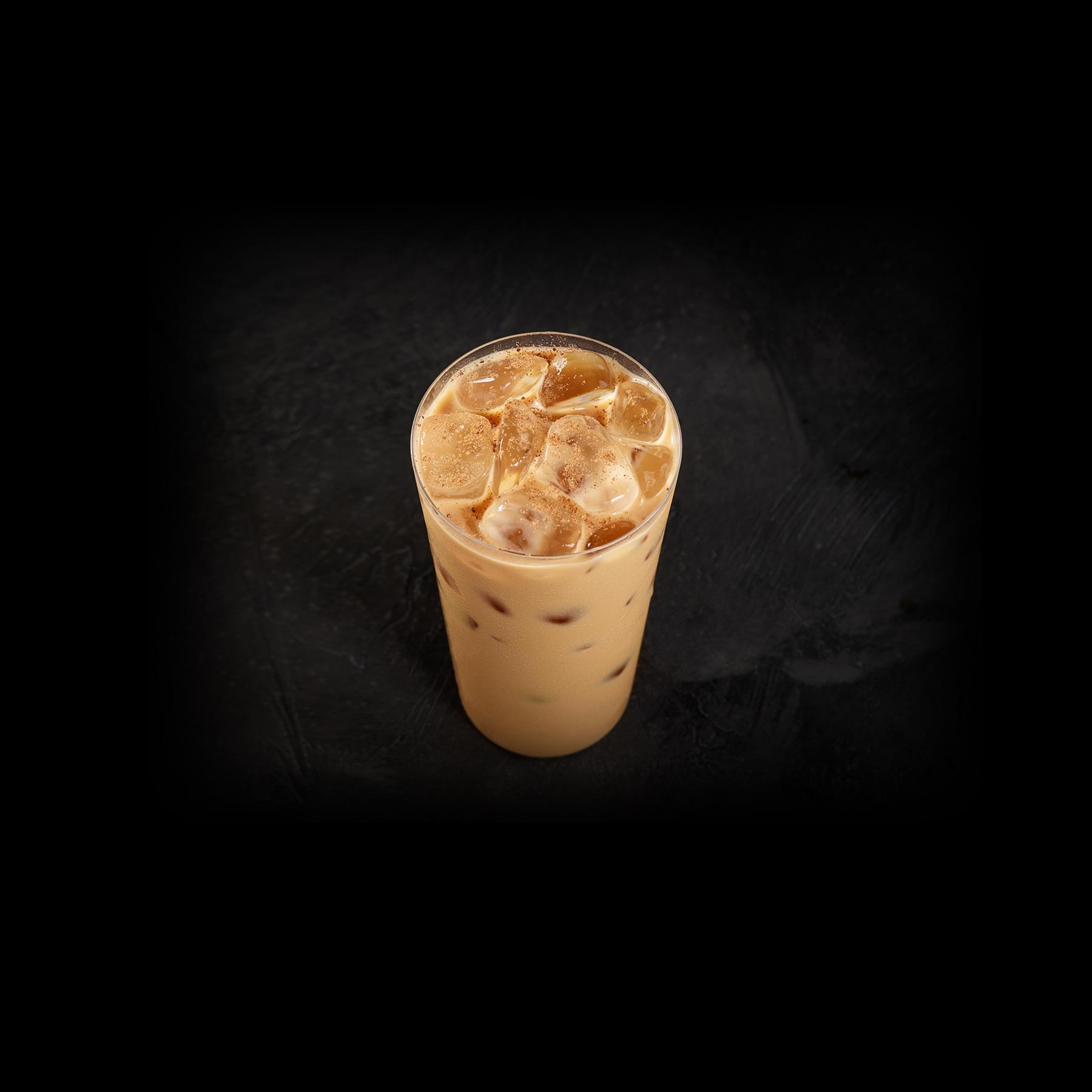 Iced Starbucks® Blonde Eggnog Latte