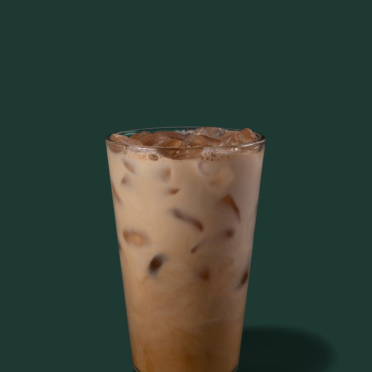 Iced Skinny Cinnamon Dolce Latte Starbucks Coffee Company