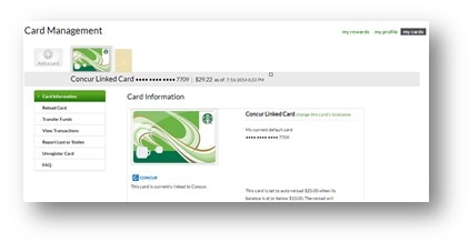 Starbucks Concur EReceipts Guide Starbucks Coffee Company - Software to create invoices free download starbucks online store