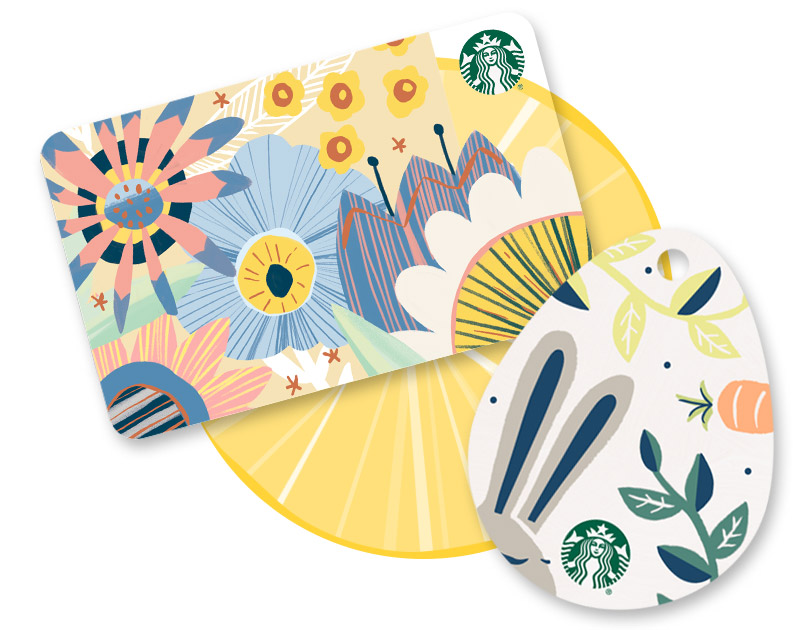 Starbucks card gift ideas made for you starbucks coffee company for spring for easter or for no reason at all our gift cards negle Images