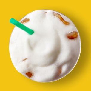 Iced Starbucks Blonde Cappuccino