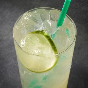 ac05f4fdcc Real fruit juice, mint and a lime slice are balanced with the delightful  zing of lemonade. Caffeinated with Green Coffee Extract and served over  ice, ...