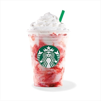 Mini Strawberries & Crème Frappuccino®