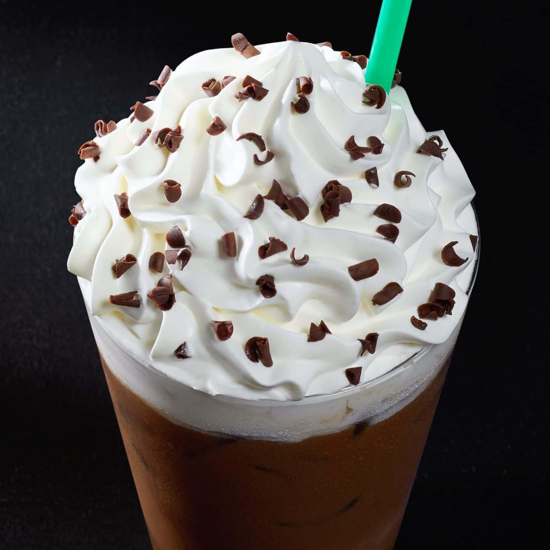 Iced Peppermint Mocha Starbucks Coffee Company