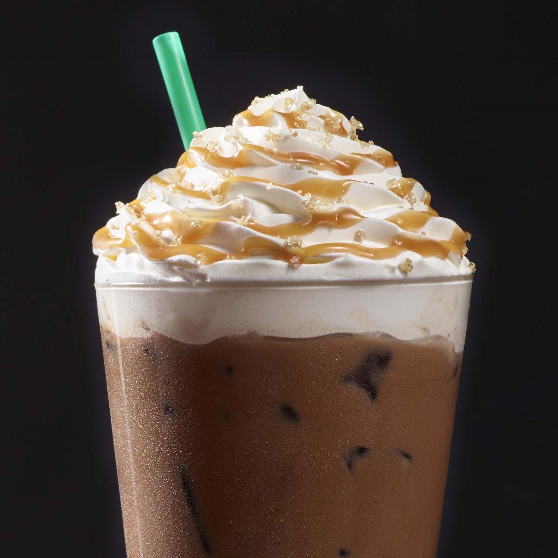 Iced Salted Caramel Mocha Starbucks Coffee Company