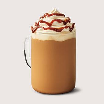 Burnt Caramel Latte