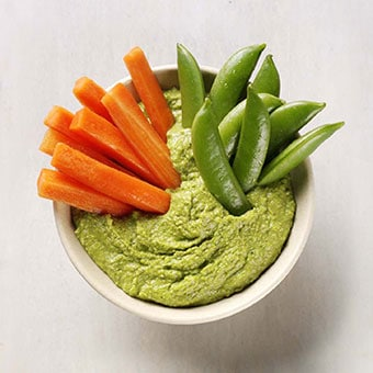 Peas & Carrots Snack Pot