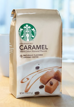 Starbucks® Caramel Naturally Flavored Coffee