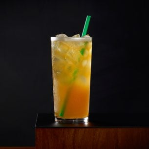 Teavana Black Tea Mango And A Hint Of Sweet Passion Fruit Are Shaken With Splash Lemonade To Create This All Day Every Iced Refreshment