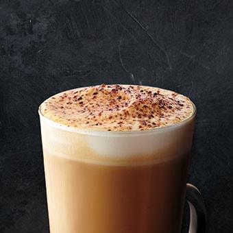 Butterscotch Brulée Latte