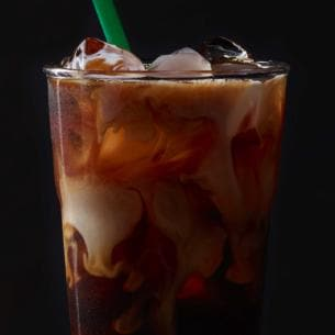 Perfect Starbucks Iced Coffee Caramel Brewed Blend With Milk Served Chilled And Throughout Design Decorating