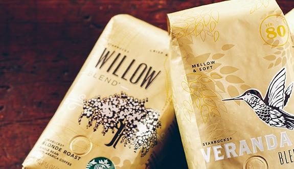 Blonde Roast Coffees Starbucks Coffee Company