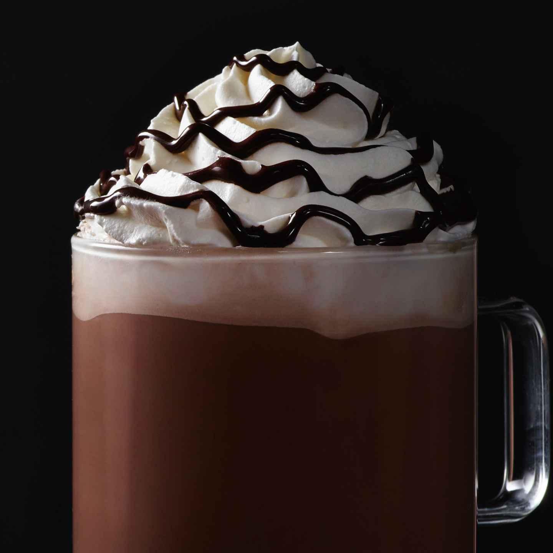 Starbucks Christmas Menu.Hot Chocolate Starbucks Coffee Company