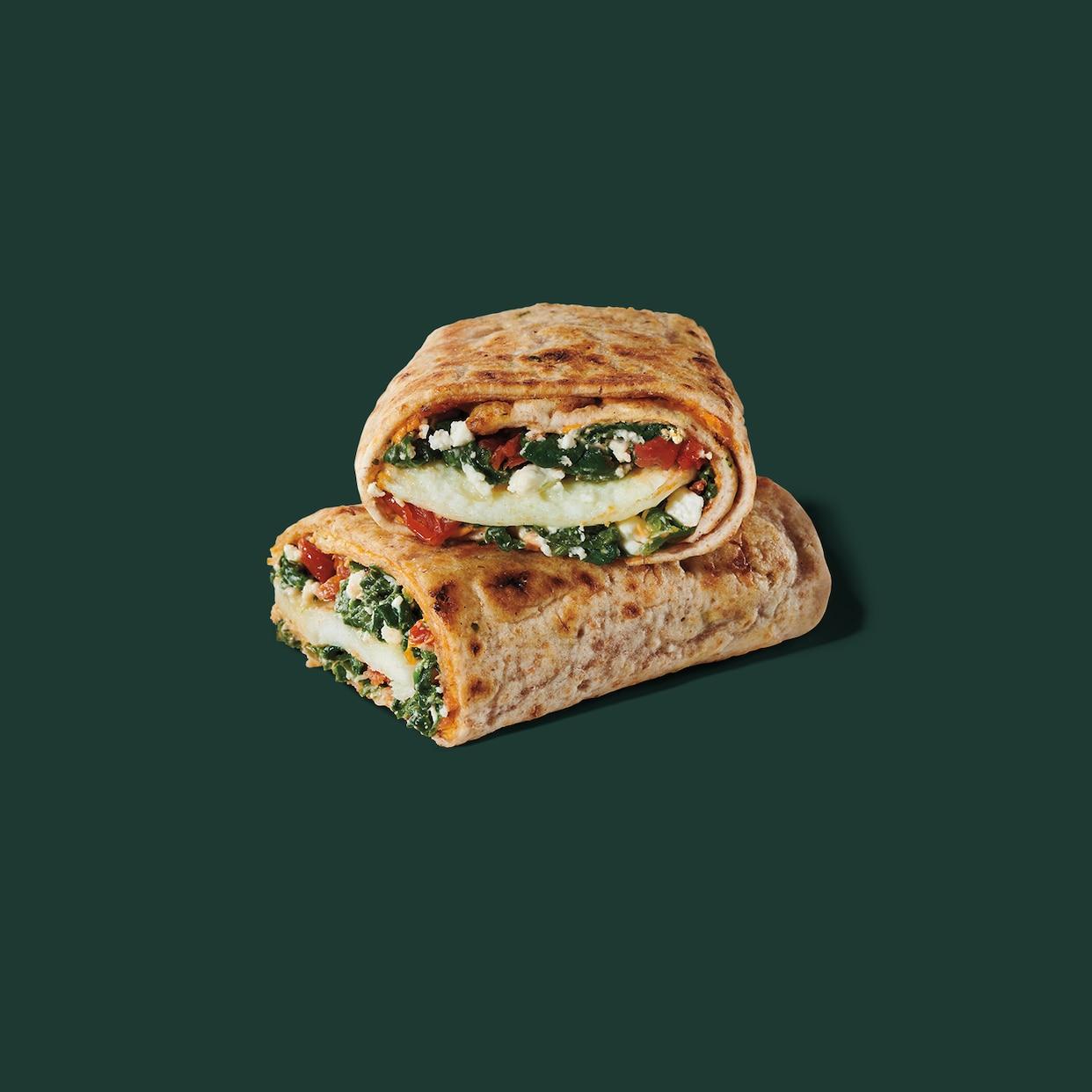 Spinach Feta Cage Free Egg White Wrap Starbucks Coffee Company
