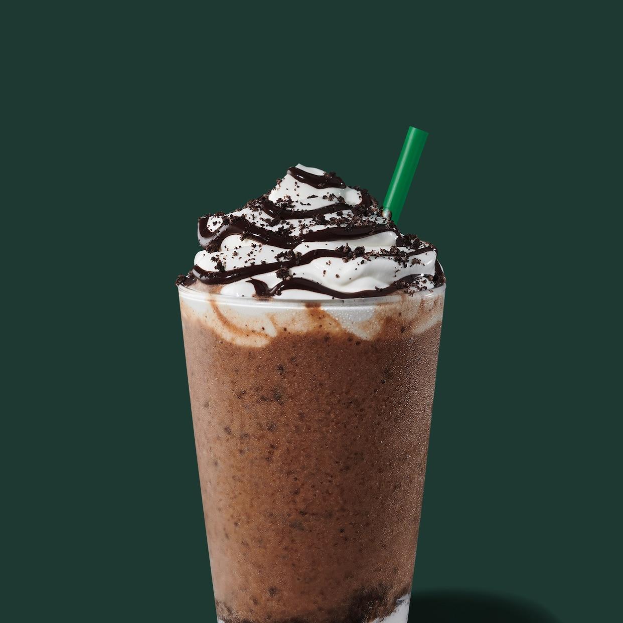 Mocha Cookie Crumble Frappuccino