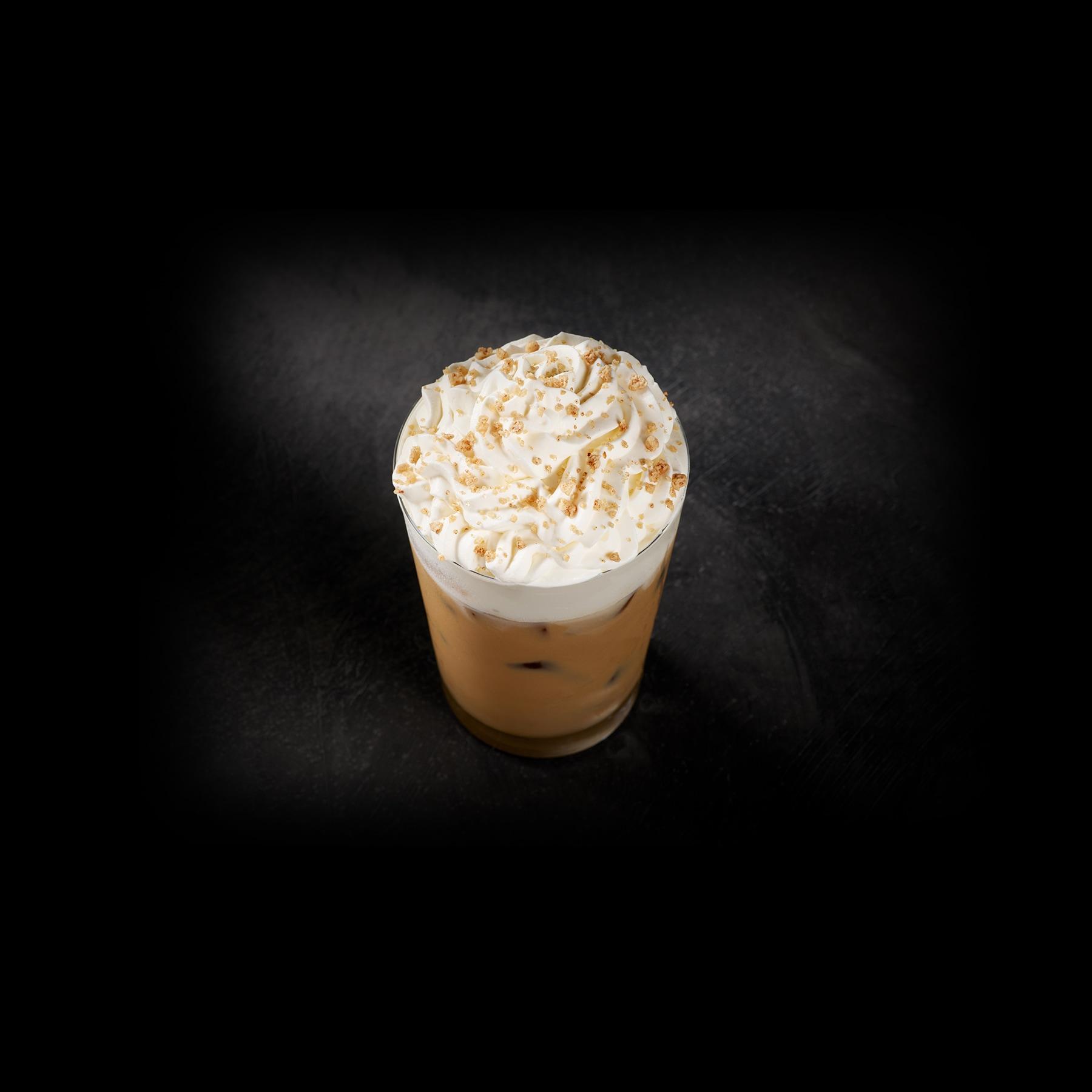 Iced Starbucks® Blonde Chestnut Praline Latte