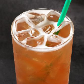 Peach Citrus Green Tea Lemonade