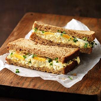 Sure As Eggs Is Eggs Sandwich
