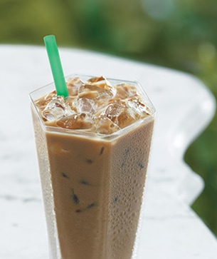 Iced Vanilla Latte Starbucks Coffee Company