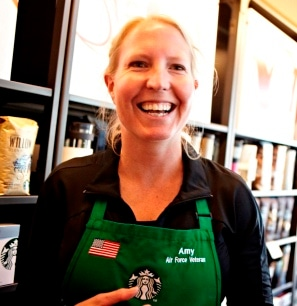 Ann Starbucks Military Spouse